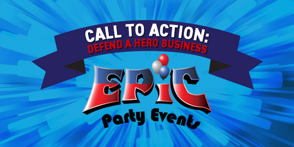 Defend a Hero Business Call to Action - Epic
