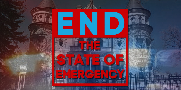 The People are Ending the Emergency on Their Own Authority