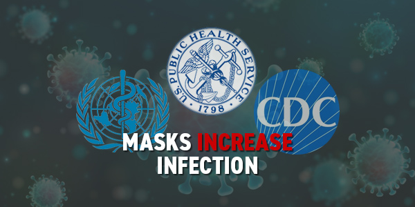 Govt Officials Say Masks Pose Health Risks
