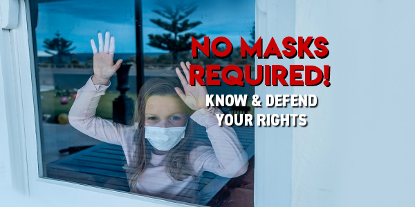 No Masks Required in Schools - Know the Law