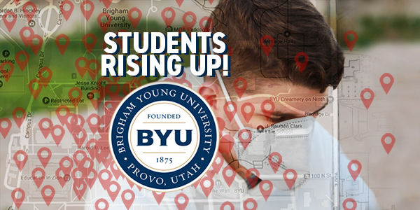 Students at Brigham Young University are pushing back with petitions