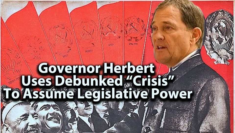 "In Massive Power Grab, Herbert ""Suspends"" State Election Law"