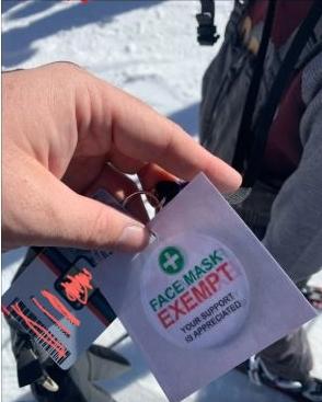 Brian Head Ski Resort Exempt Tag