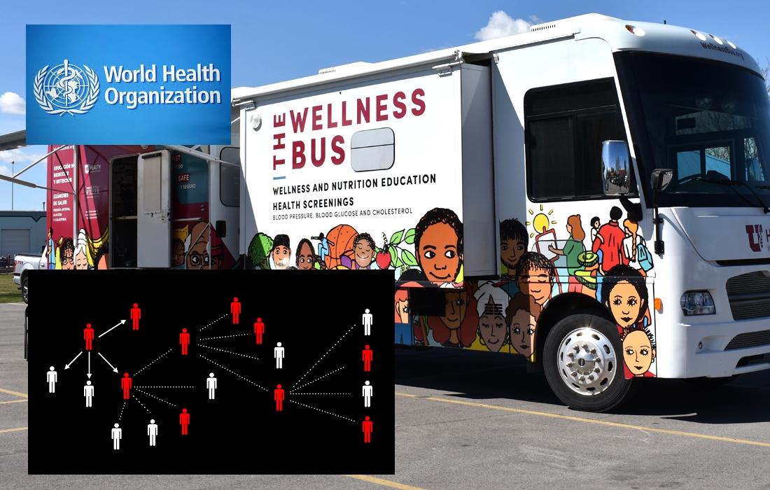 Utah Hero Wellness Bus Contact Tracing World Health Organization